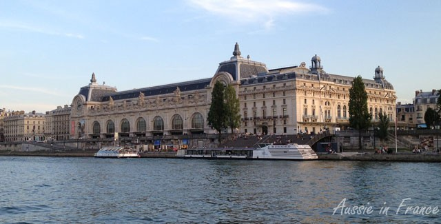 Orsay Museum from Solferino footbridge