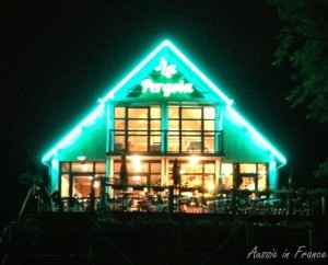 The other neon-lit Pergola