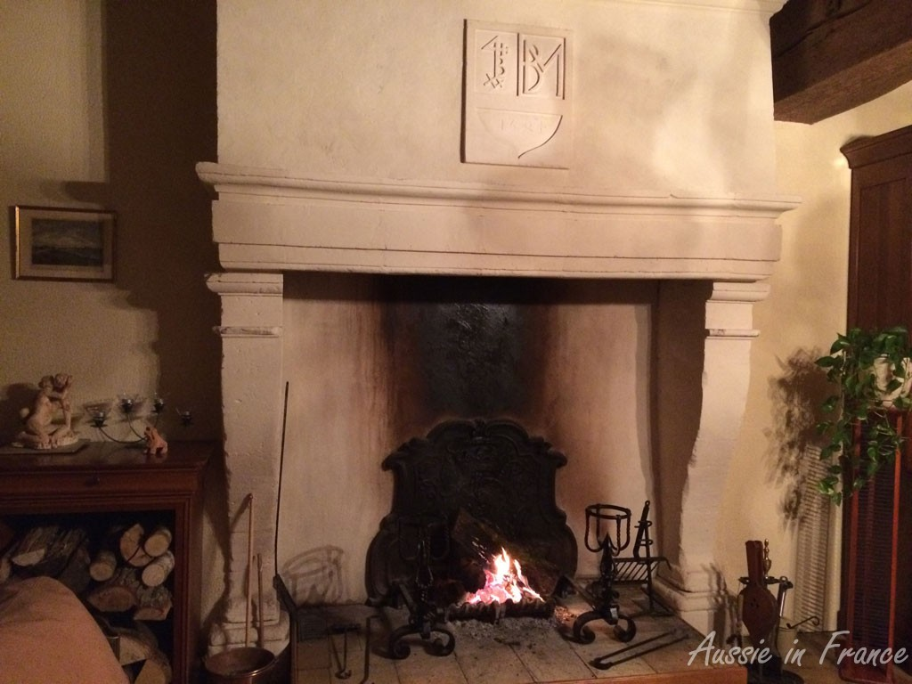 We love our fireplace!
