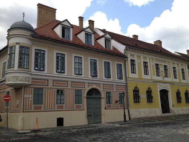 Painted façades
