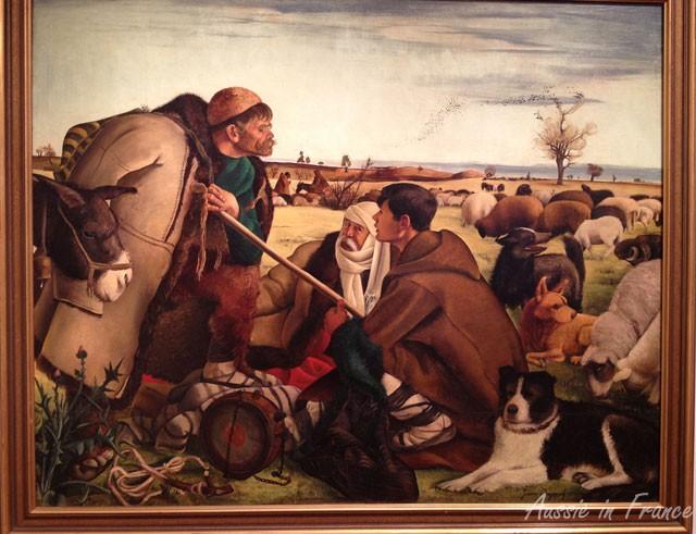 Painting by Zlatyu Boyadzhiev (1902 - 1976)