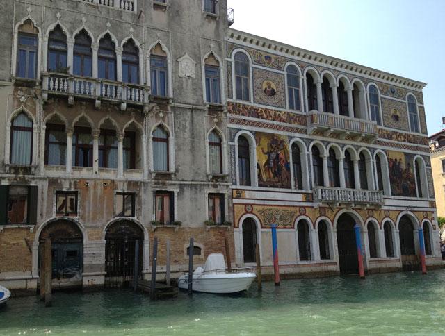 Palazzo Barbarigo on the Grand Canal