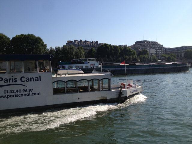 A Paris Canal boat