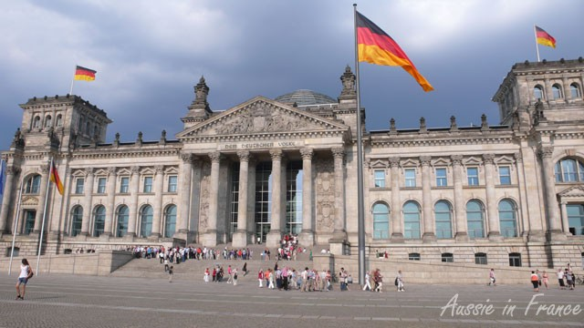 The Berlin Parliament or Reichstag Building
