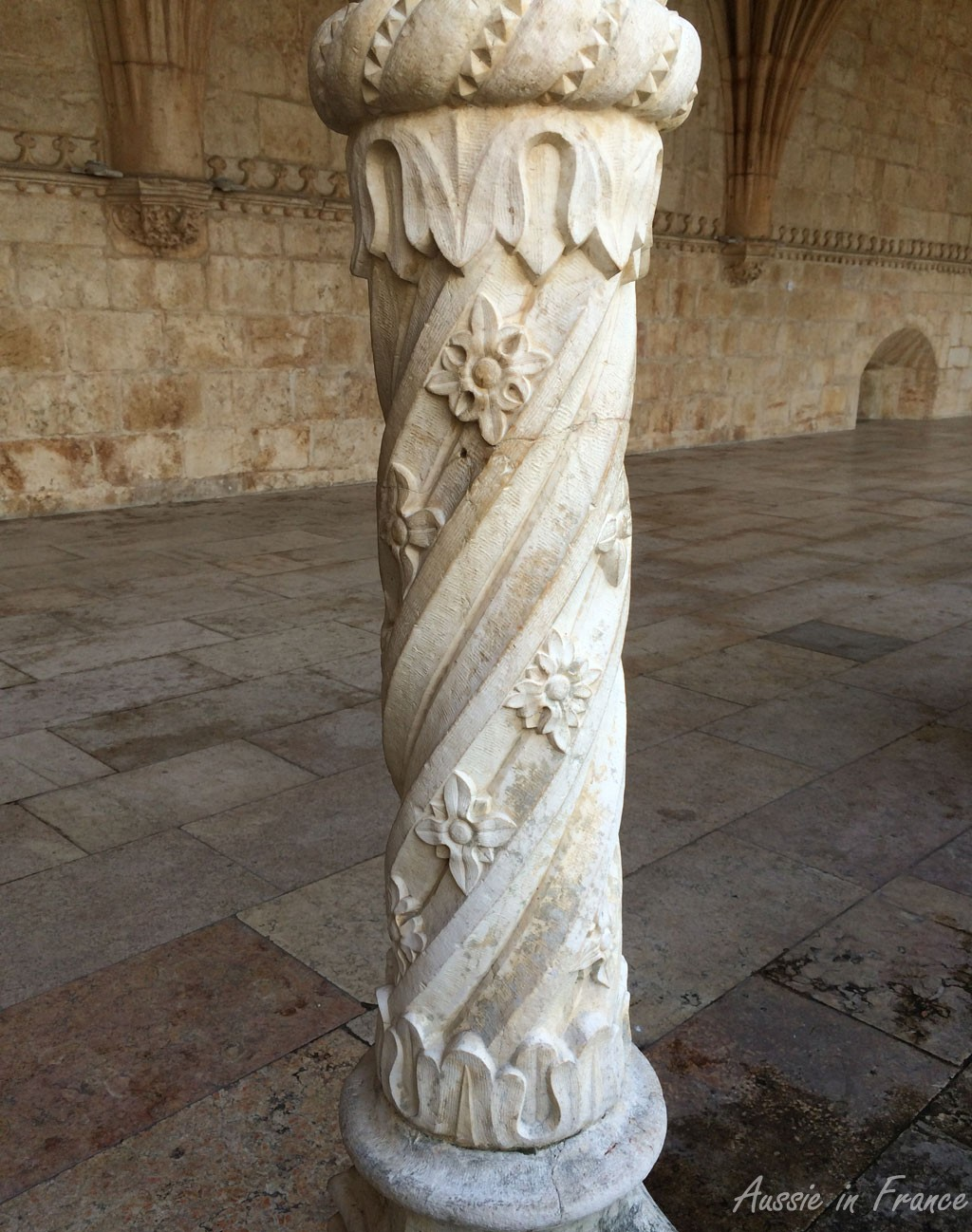 Just one of the beautiful columns
