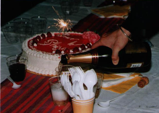 My fortieth birthday cake - Pour le plaisir