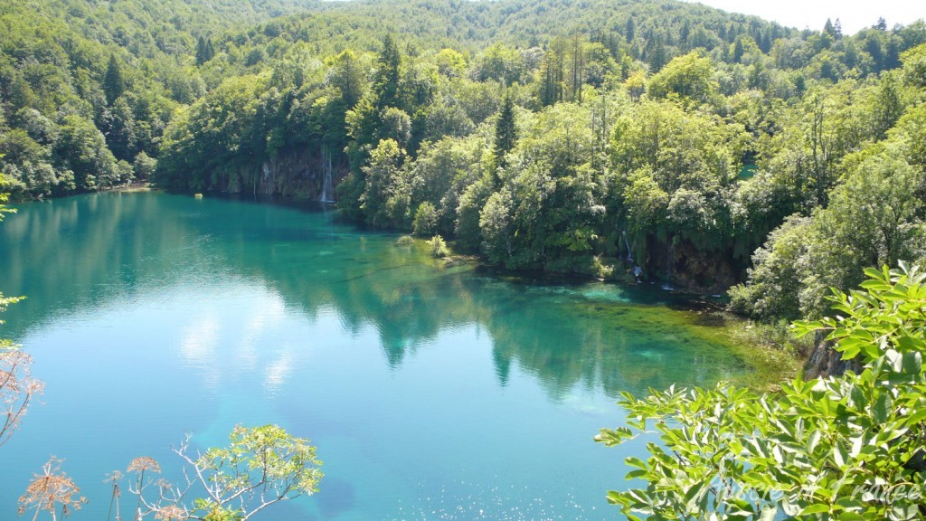 Stunning upper lakes at Plitvice