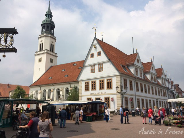 The Rathaus in Celle