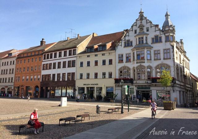 Other side of Marktplatz