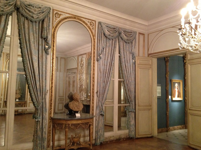 Reception room from Hôtel d'Uzès