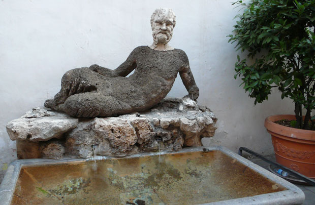 Il Babuino (the Baboon), Rome