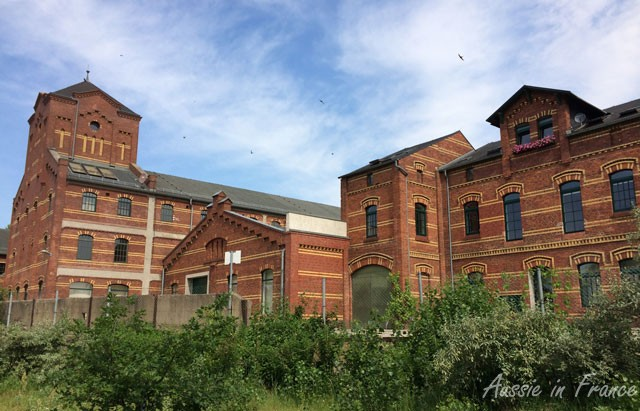 Red-brick factory converted into flats