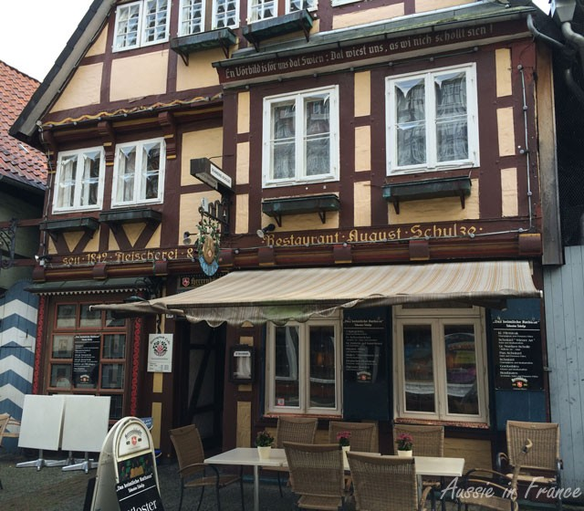 Schweine restaurant in Celle