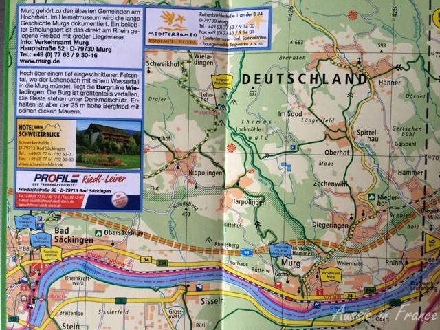 Rhein-Radweg 2 Radwander Karte www.schwalbe.com