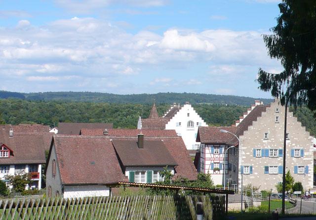 Rheinau village