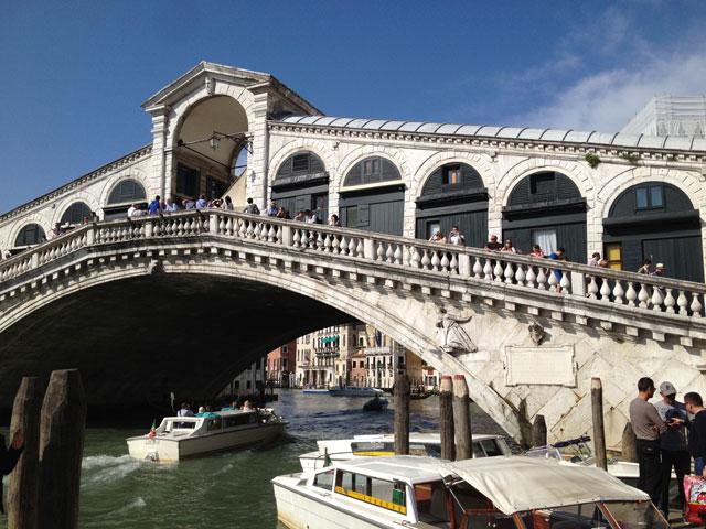 Rialto Bridge on the the Grand Canal