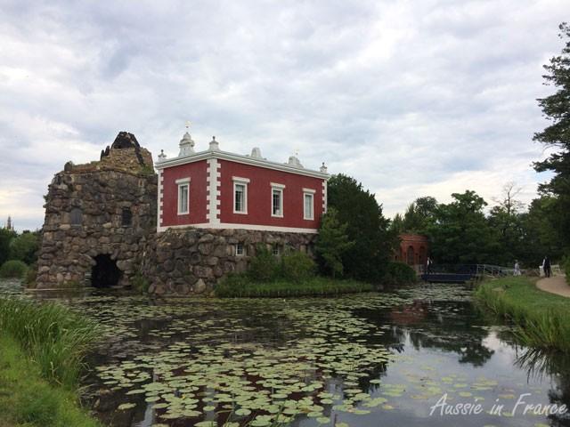 Villa Hamilton next to Vesuvius