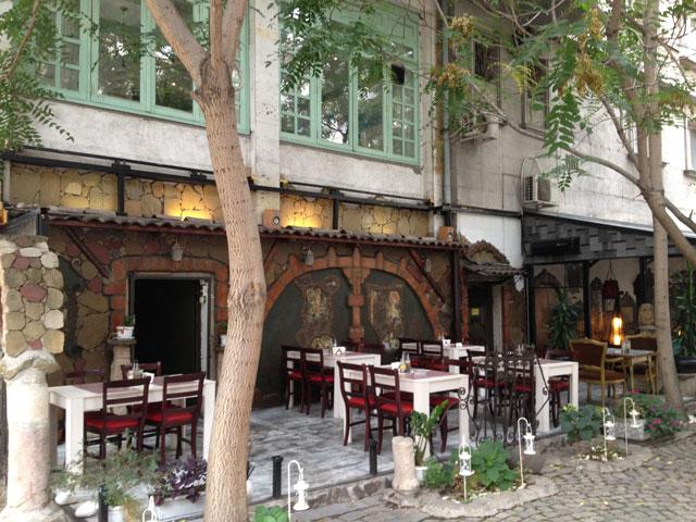 The Rotunda café