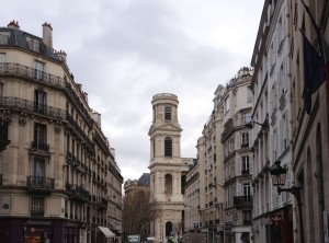 An unknown church on the way from rue de Rennes to boulevard Saint Germain