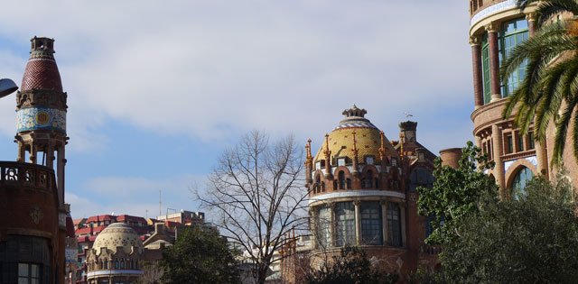 Back of Sant Pau, well worth a visit