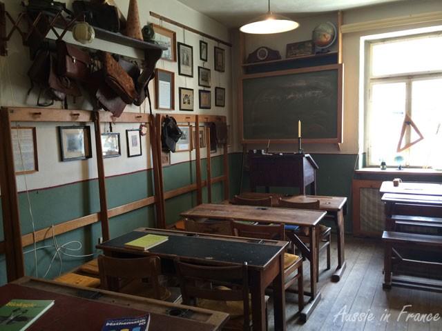Scboolroom inside the Exempel Gastuben