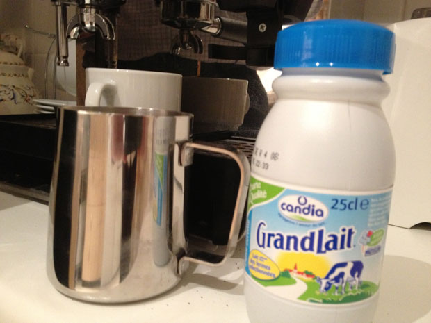 small jug milk How To Make Coffee In A Coffee Maker For Dummies
