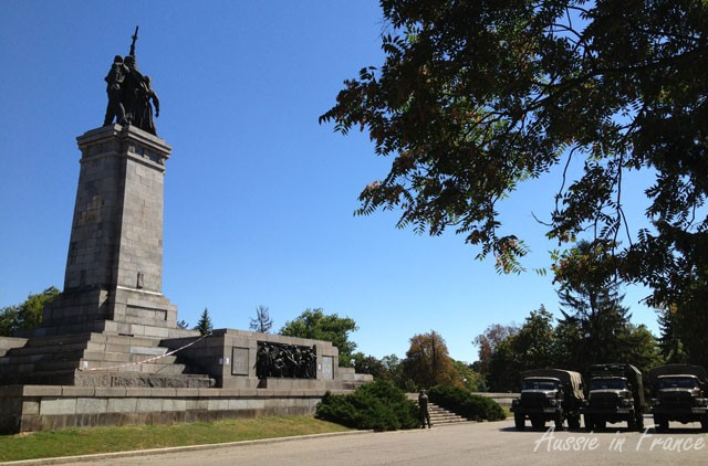 The Soviet Army Monument