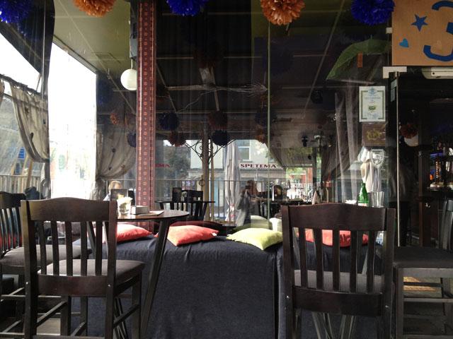 Spetema Café near the university of Sofia