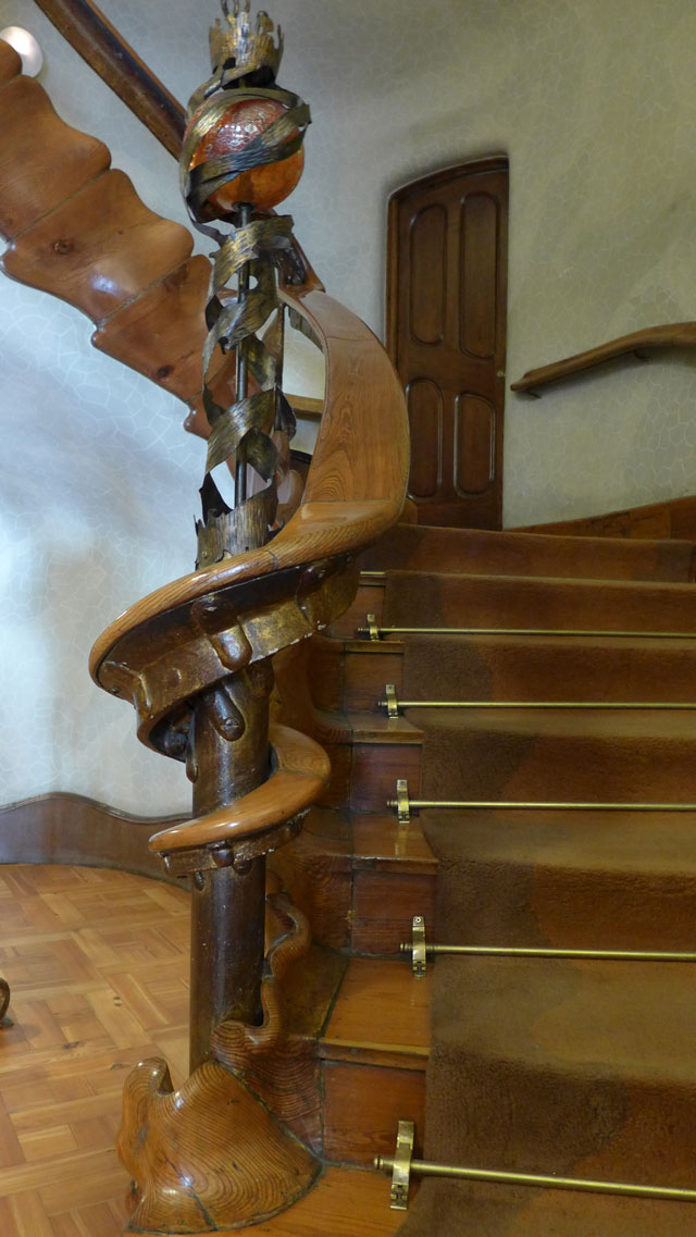 One of the beautiful staircases