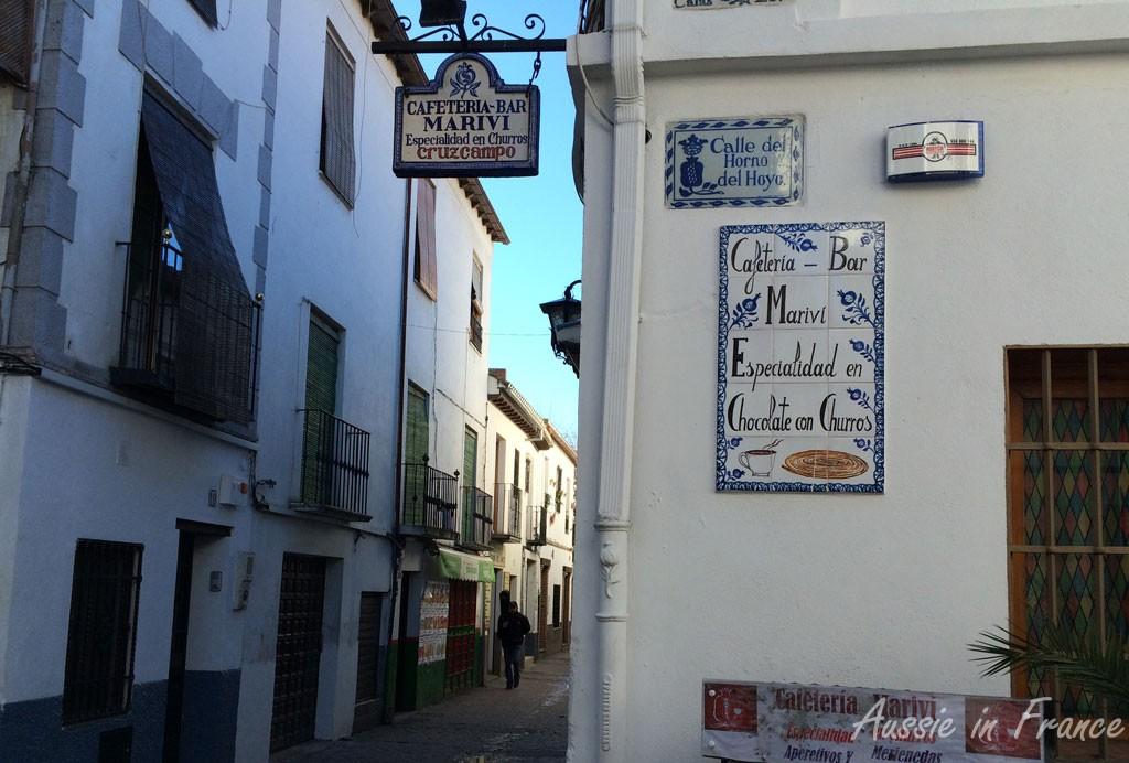 Typical Albaicin street