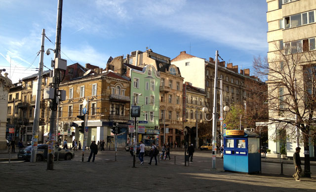 A typical street corner