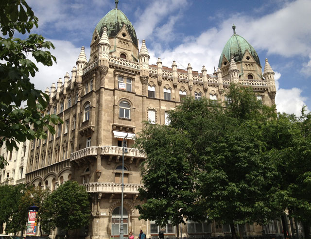 Szabadsag Ter in Budapest