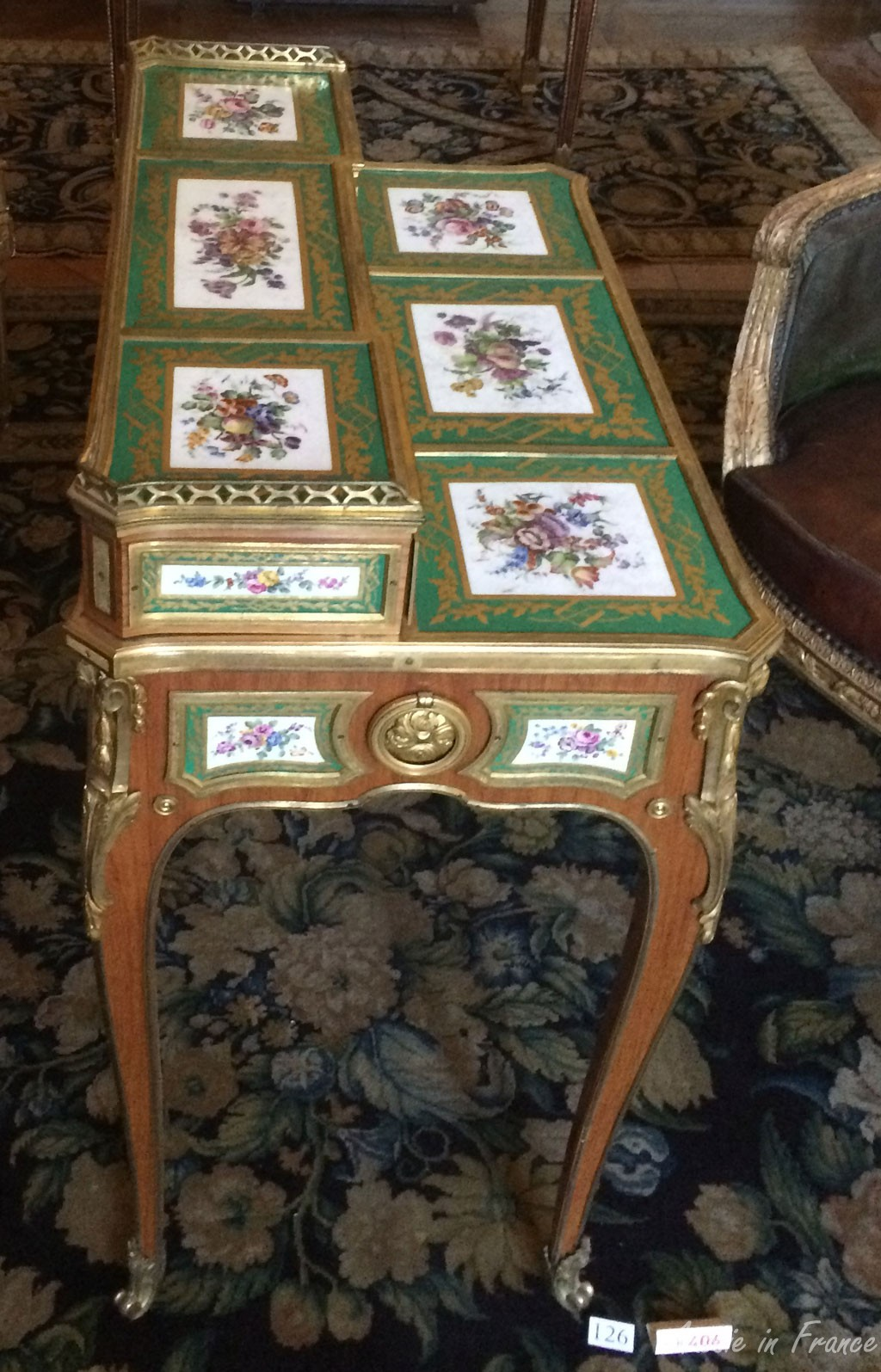 Beautiful enamel table