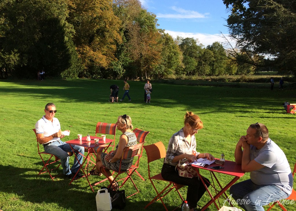 Tea time in the sun!