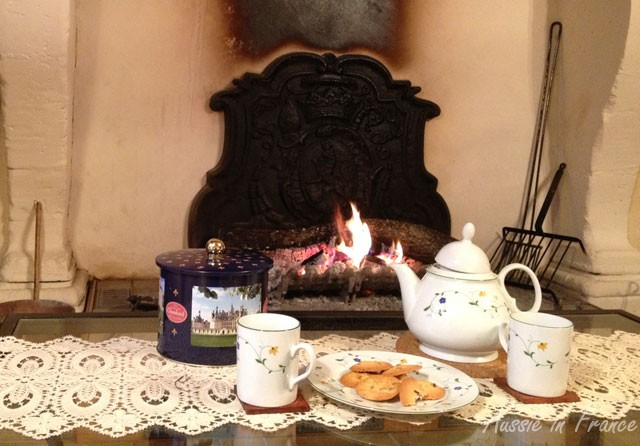 Thinking about teatime in front of fire gives me extra energy