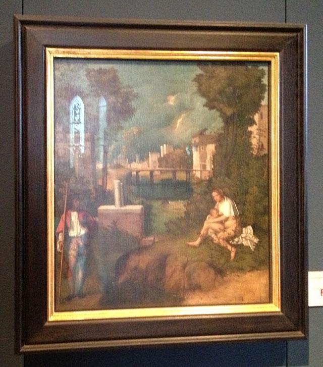 The Tempest by Giorgioni
