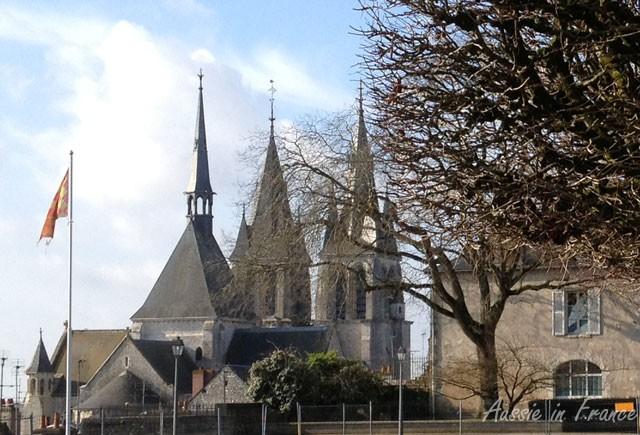 The three spires of Saint Nicolas