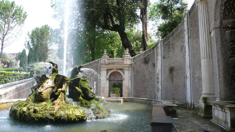 Tivoli Gardens Italy Garden Ftempo