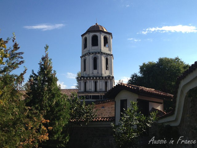 The tower of the church of