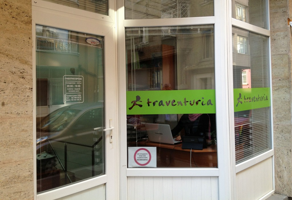 Traventuria's office on Veslets Street