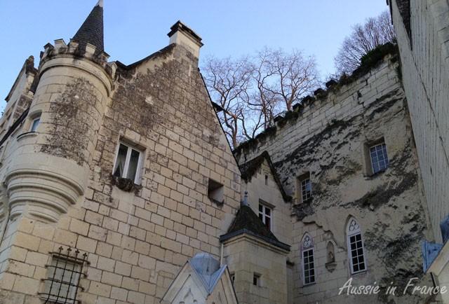 Semi-troglodyte castle