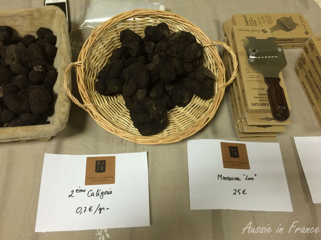 Second category truffles and the truffle slicer
