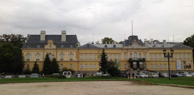 The former tzar's palace, now the National Art Gallery