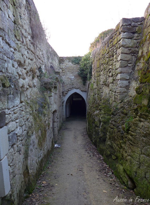 The tunnel on our cycle bath