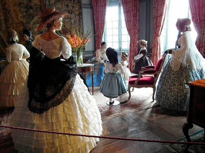 Costume exhibition at Ussé - photograph by Loire Valley Time Travel