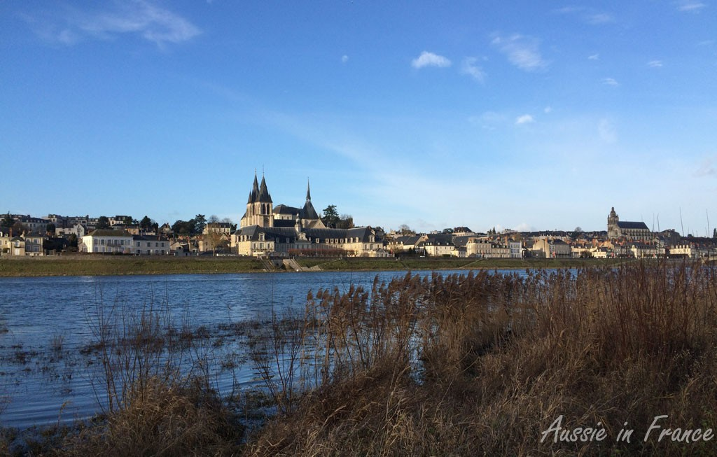 Blois from the Vienne side