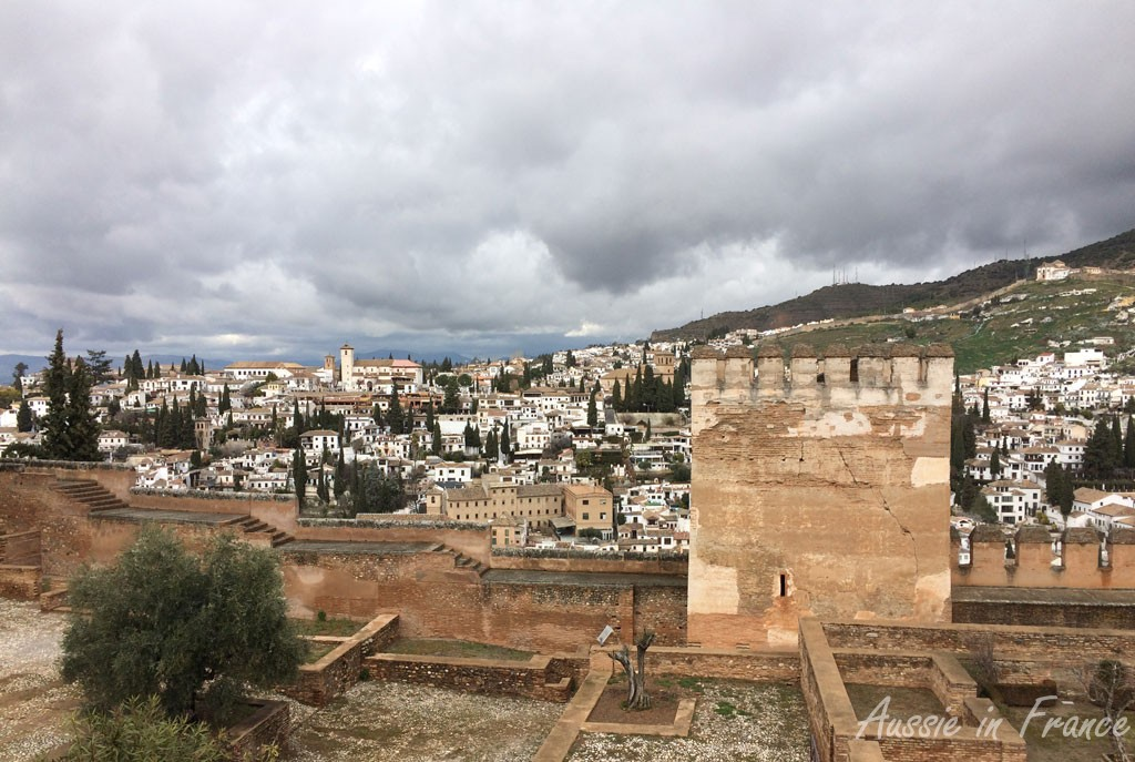 Mirador San Nicolas from the Alhambra