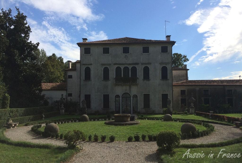 Villa Badoer Fattoretto closed after a tornado in July 2015