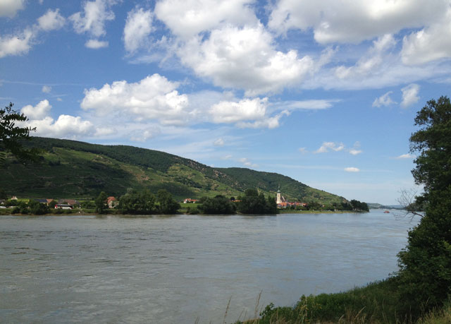 Another typical view of the Danube