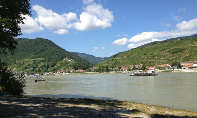 On the banks of the Danube in the Wachau